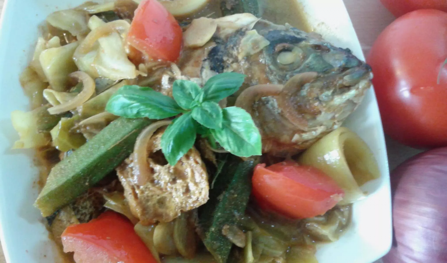 A warming Malaysian dish for the cold weekend ahead – Penang Nyonya Fish Curry