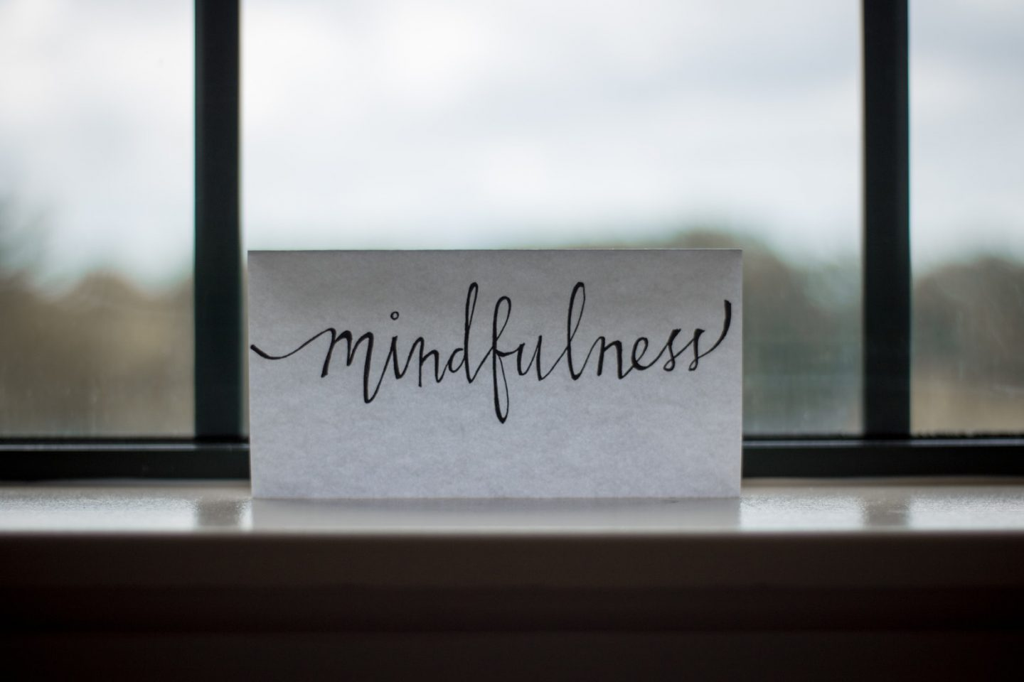 I am taking up Mindfulness in 2019